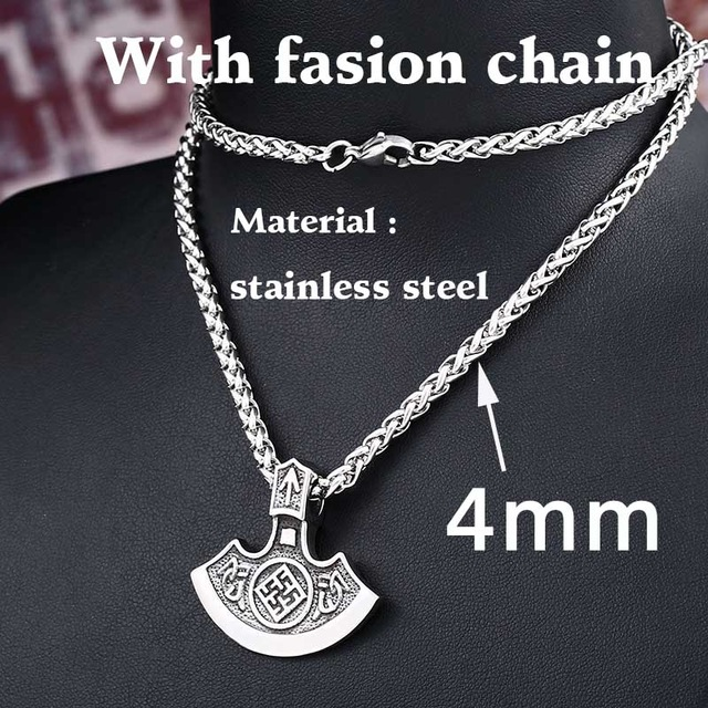 size s men necklace lynx on steel shop silver tone summer pendant hot two cross bargains stainless mens